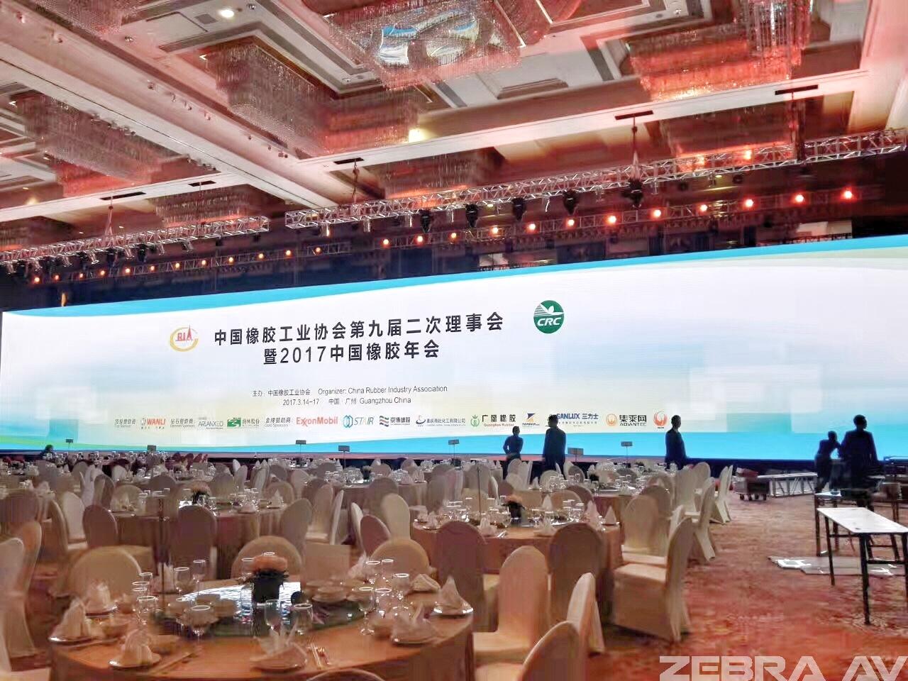 协会会议(278平米P3高清LED)